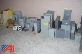 Large Lot of Electrical Boxes