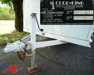 2002 Curb King #601 Landscape & Curbing Trailer