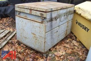 Lot of (3) Metal Tool Boxes