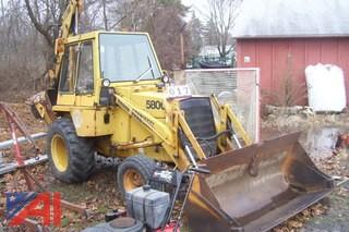 1978 Case 580C Backhoe