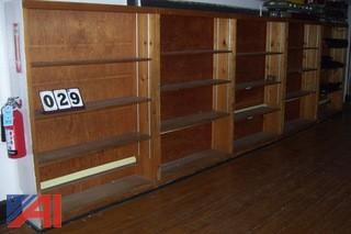 Bookcase lot