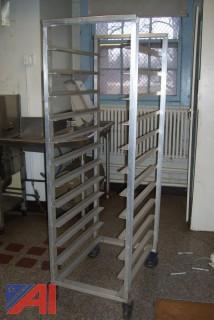 Entire Stainless Steel Kitchen