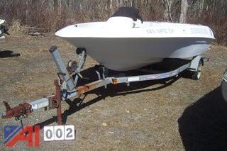 1995 Mirage Jet Boat