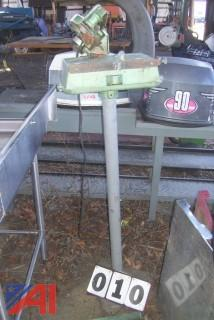 Neilson Pedestal Chain Saw Sharpener