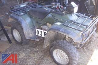 1999 Honda Foreman S 4 x 4 TRX450SX ATV