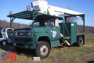 1988 Chevrolet C7D042 Bucket Truck