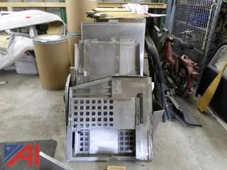 Vehicle Dog Cage