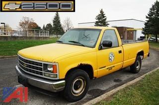 1992 Chevy Cheyenne 2500 Series Pickup Truck