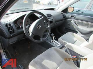 2005 Honda Civic 4 Door