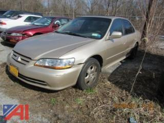 2002 Honda Accord 4 Door
