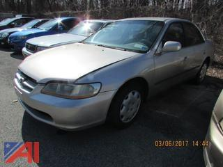1999 Honda Accord 4 Door