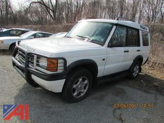 2000 Land Rover Discovery SUV