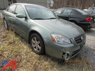 2003 Nissan Altima 4 Door