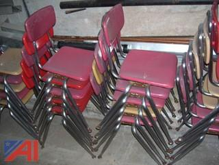 (50) Stackable Chairs