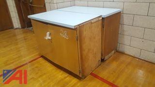 (2) Cupboard Units