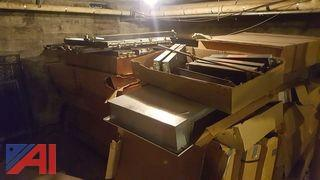 Large Lot Trane Cabinet Heater Housings and Heater Coils