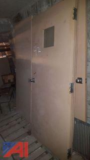 (5) Steel Doors