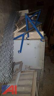 Lot of Metal Radiator Cabinets