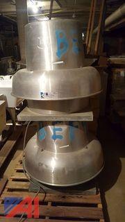 (2) Penn Power Roof Ventilators