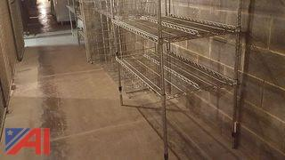 (6) Metal Food Racks