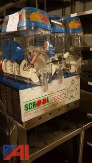 (2) School Tropics Slushy Machines