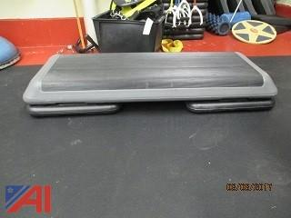Large Lot of Fitness Equipment & More