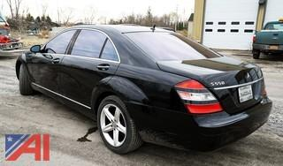 2007 Mercedes-Benz S-Class S550 4 Door Sedan