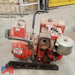 """3"""" Homelite Centrifugal Pump"""