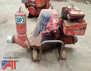 """3"""" Homelite Mud Sucker Pump; 4 Cycle"""
