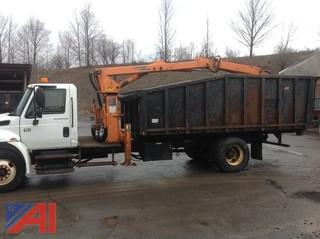 2007 International 4300 SBA 4x2 Dump / Grapple