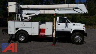 2000 GMC 7500 Bucket/Utility Truck