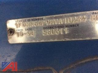 1991 Ford F600F Dump