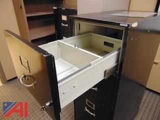 (2) Fire Proof File Cabinets