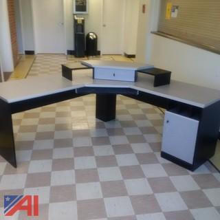 Desk & File Cabinet