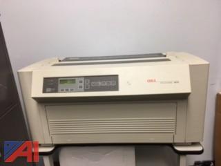 (2) OKI 4410 Large Format Printers