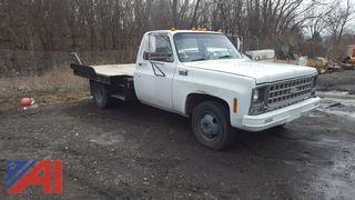 1980 Chevrolet Custom Deluxe 3500 Flat Bed