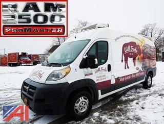 2014 Ram 2500 ProMaster Refrigerated Cargo Van