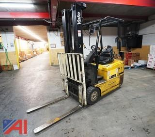 Yale 36 Volt Ride on Forklift