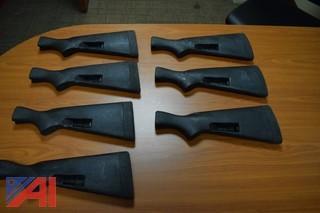 (7) Used Remington 870 12 Gauge Shotgun Speed Feed Stocks.
