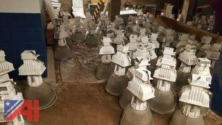 Large Lot of Holophone Light Fixtures