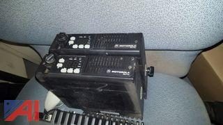(5) Motorola MaxTrac Radios