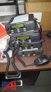 (4) Motorola CDM 1250 Radios