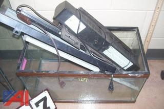 (4) Fish Tanks and Accessories