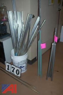 Aluminum Support Rods