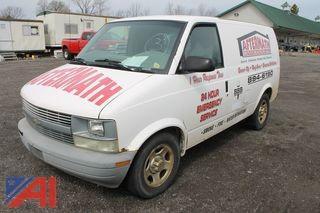 **Windshield Cracked** 2004 Chevy AST Cargo/Utility Van