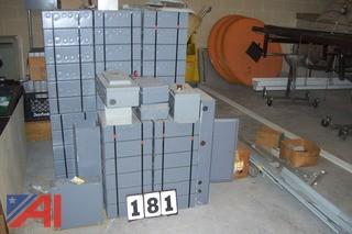 Lot of Electric Boxes and More