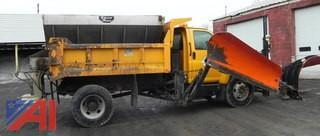 2004 GMC C8C042 Dump with Plow & Wing