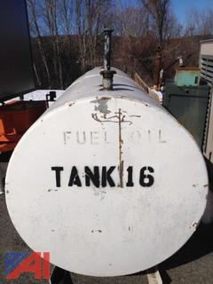 1,000 Gallon Steel Fuel Oil Tank