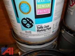 (33) 5 Gallon Pails Traffic Marking Paint-UNOPENED
