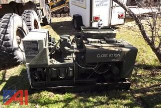 Military Surplus Generator Trailer and Generator